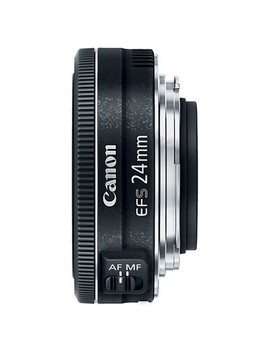 Canon Ef S 24mm F/2.8 Stm Lens   Black (1070 C001) by Canon