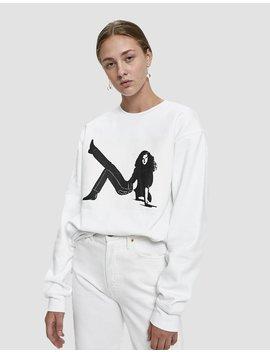 Icon Box Print Crewneck Sweatshirt by Calvin Klein Jeans Est. 1978