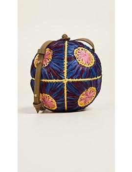 Saiu Raffia Cross Body Bag by Sophie Anderson
