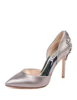 Karma Ii Embellished Leather Pumps by Badgley Mischka
