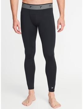 Go Dry Built In Flex Base Layer Tights For Men by Old Navy