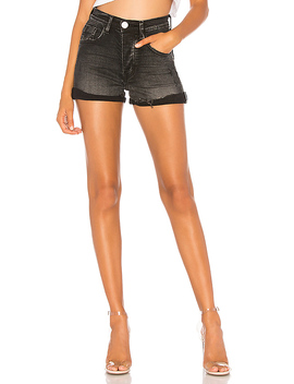 Harlets High Waist Denim Short by One Teaspoon