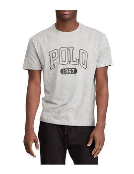 Varsity Inspired Short Sleeve Logo Tee by Polo Ralph Lauren