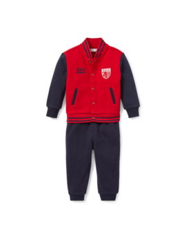 Baseball Jacket & Jogger Set by Ralph Lauren