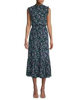 Boho Smock Waist Jersey Dress by Michael Michael Kors