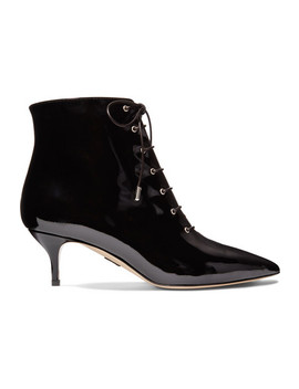 Nolde Patent Leather Ankle Boots by Paul Andrew