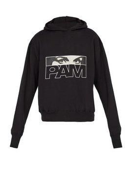 Maiden Logo Hooded Sweatshirt by P.A.M.