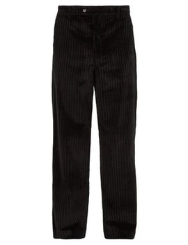 Straight Leg Corduroy Trousers by Aries