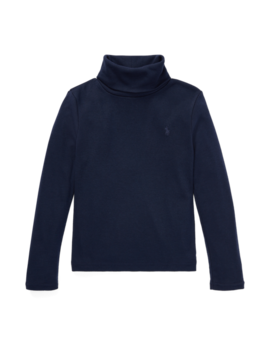 Cotton Modal Turtleneck by Ralph Lauren