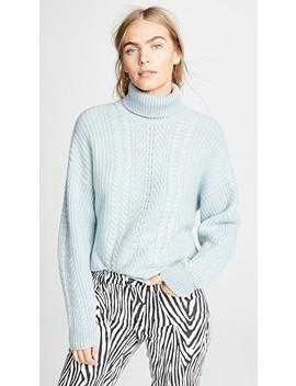 Pontavin Cableknit Sweater by Le Kasha