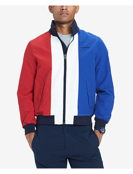 Men's Colorblocked Jacket, Created For Macy's by Tommy Hilfiger