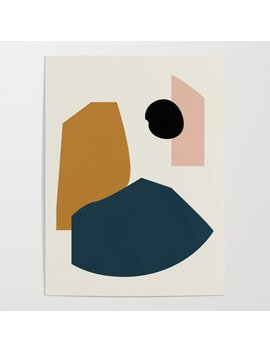 Shape Study #1   Lola Collection Poster by