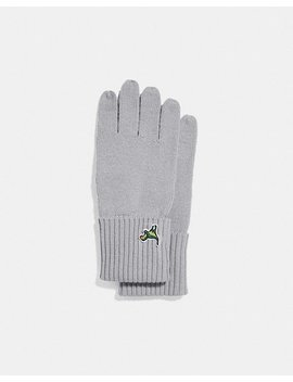 Knit Tech Rexy Gloves by Coach