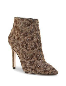 Prontelle Leopard Hotfix Booties by Jessica Simpson