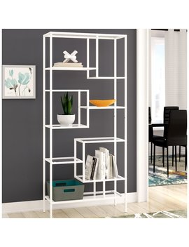 Ebern Designs Hickory Etagere Bookcase & Reviews by Ebern Designs