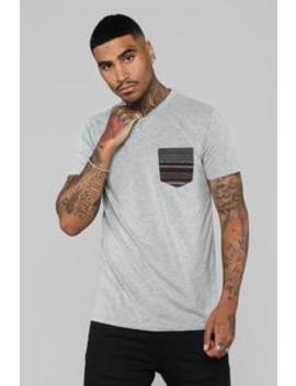 Baesic Short Sleeve Tee   Grey by Fashion Nova