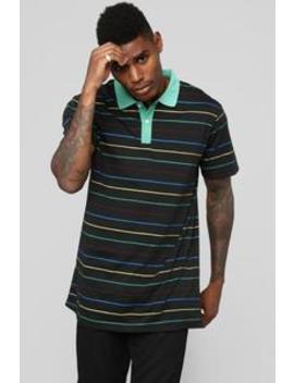 The Carter Short Sleeve Polo   Black by Fashion Nova