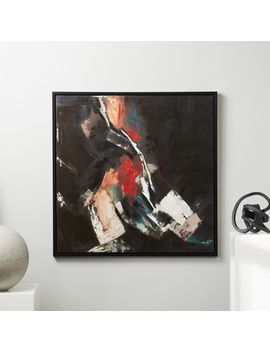 Convergence Painting 40x40 by Crate&Barrel