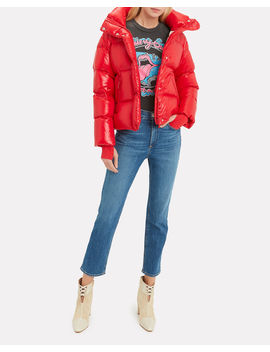 Andi Cherry Puffer Jacket by Sam