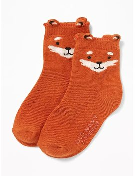 Graphic Crew Socks For Toddler Boys & Baby by Old Navy