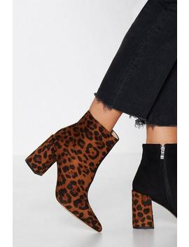 Two's Company Two Tone Bootie by Nasty Gal