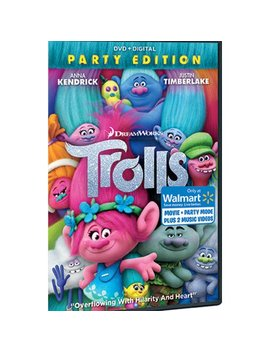 Trolls (Walmart Exclusive) (Dvd + Digital) by Dream Works / Universal Pictures
