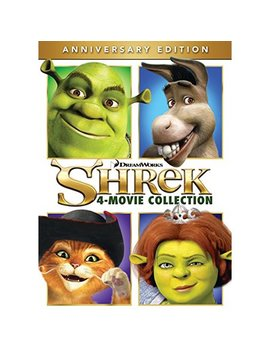 Shrek 4 Movie Collection (Anniversary Edition) (Dvd) by Dream Works / Universal Pictures