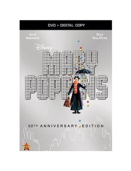 Mary Poppins (50th Anniversary Edition) (Dvd + Digital Copy) by Buena Vista Home Entertainment