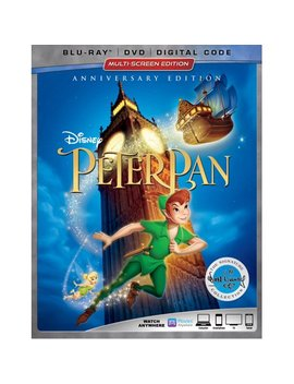 Peter Pan (Anniversary Edition) (Blu Ray + Dvd + Digital Code) by Buena Vista Home Entertainment