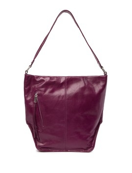 Meredith Leather Bucket Hobo Bag by Hobo
