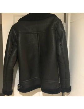 Zara Men's Biker Jacket   Small Preowned/Used by Zara