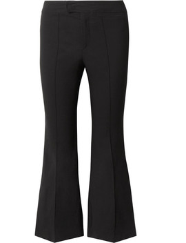 Nyree Cropped Cotton Blend Flared Pants by Isabel Marant