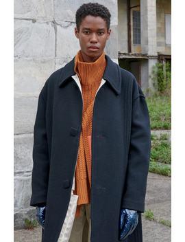 Classic Wool Blend Coat by Raf Simons
