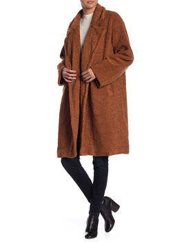 Faux Fur Teddy Bear Coat by Lush