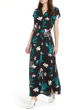 V Neck Maxi Dress (Regular & Petite) by Halogen