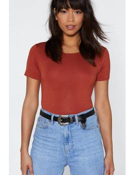 Why Have The West Faux Leather Belt by Nasty Gal