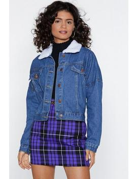 Another Day Another Collar Denim Jacket by Nasty Gal