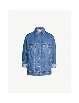 Relaxed Fit Denim Jacket by Topshop