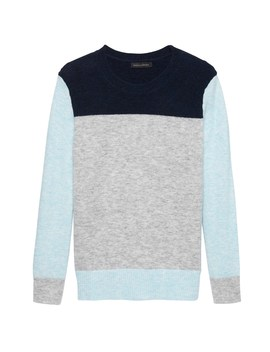 Color Block Boyfriend Sweater by Banana Repbulic