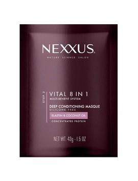 Nexxus New York Salon Care Vitall 8 In 1 Coconut & Protein Deep Conditioning Masque   1.5oz by Nexxus