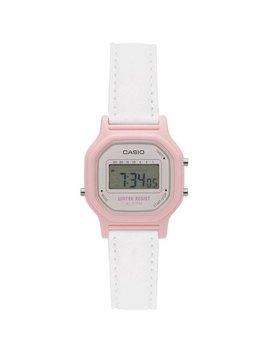 Casio Women's Casual Digital Watch, White/Pink by Casio