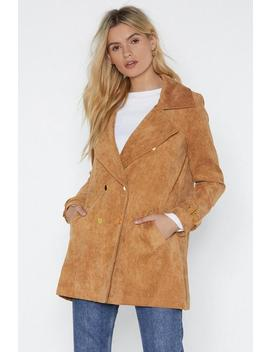 Under Cover Cord Jacket by Nasty Gal