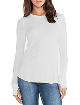 Michael Lauren Alick L/S Fitted Rib Tee W/Thumb Holes by Michael Lauren