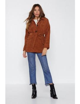 Fall In Corduroy Jacket by Nasty Gal
