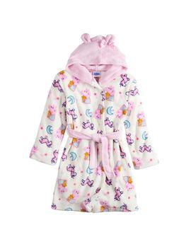 Girls 4 12 Peppa Pig Hooded Robe by Kohl's