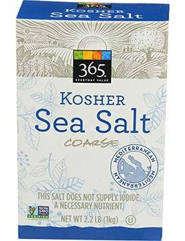 365 Everyday Value, Kosher Sea Salt Coarse, 2.2 Pound by 365 Everyday Value
