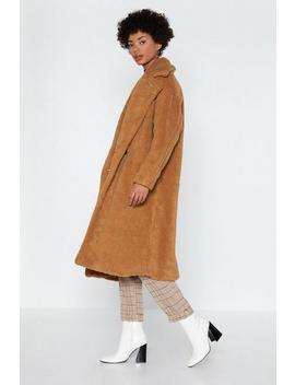 Warm Love Faux Fur Coat by Nasty Gal