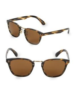 50 Mm Lerner Clubmaster Sunglasses by Oliver Peoples