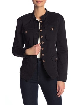 Bragg Fitted Officer Jacket by William Rast