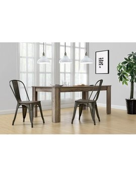 Better Homes And Gardens Aidan Metal Dining Chair With Wood Seat, Set Of 2, Multiple Colors by Better Homes & Gardens